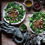 Salat mit Kichererbsen
