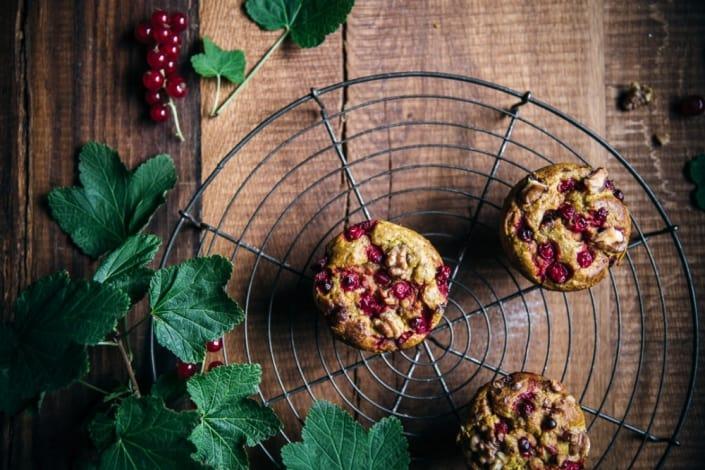 Muffins Johannisbeeren